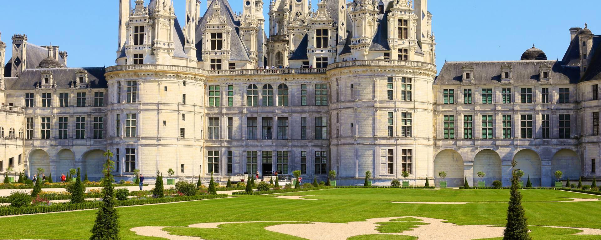 I giardini e il castello di Chambord © Ludovic Letot