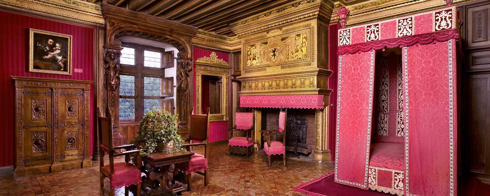 Interno del castello di Chenonceau