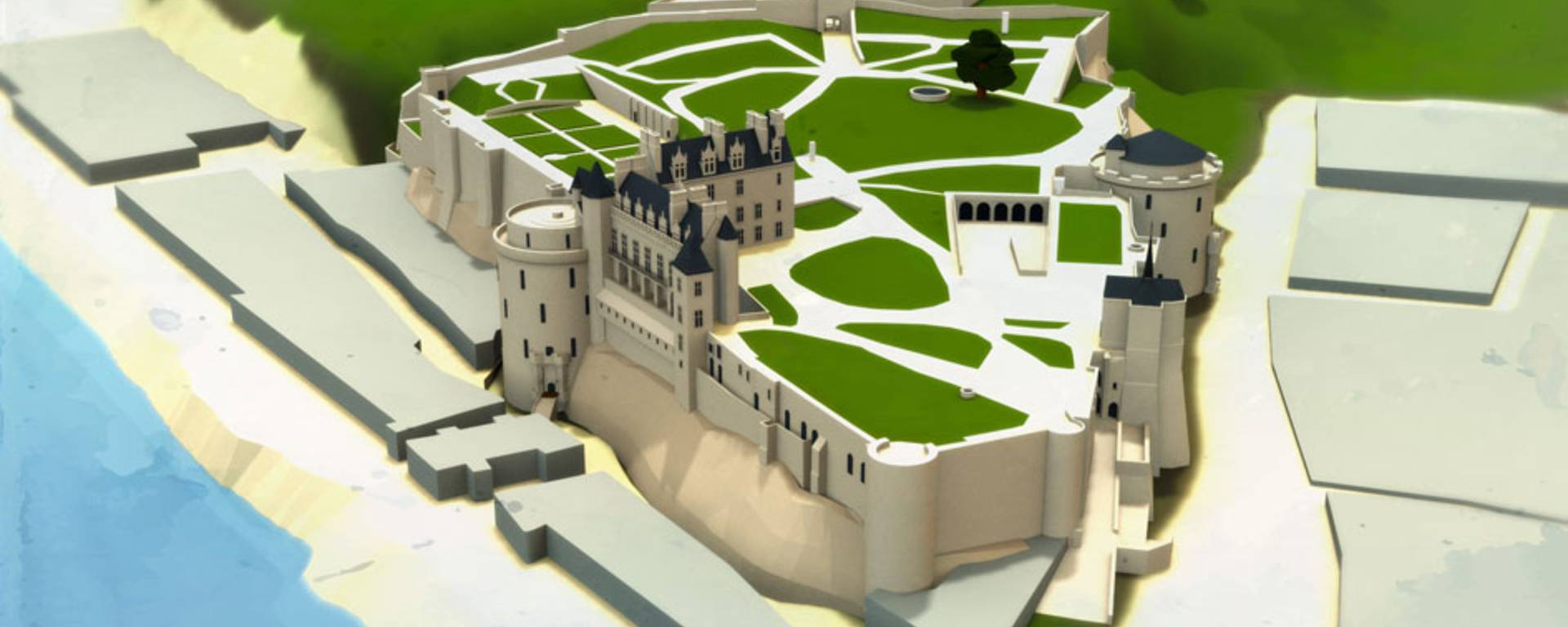 Il castello attuale