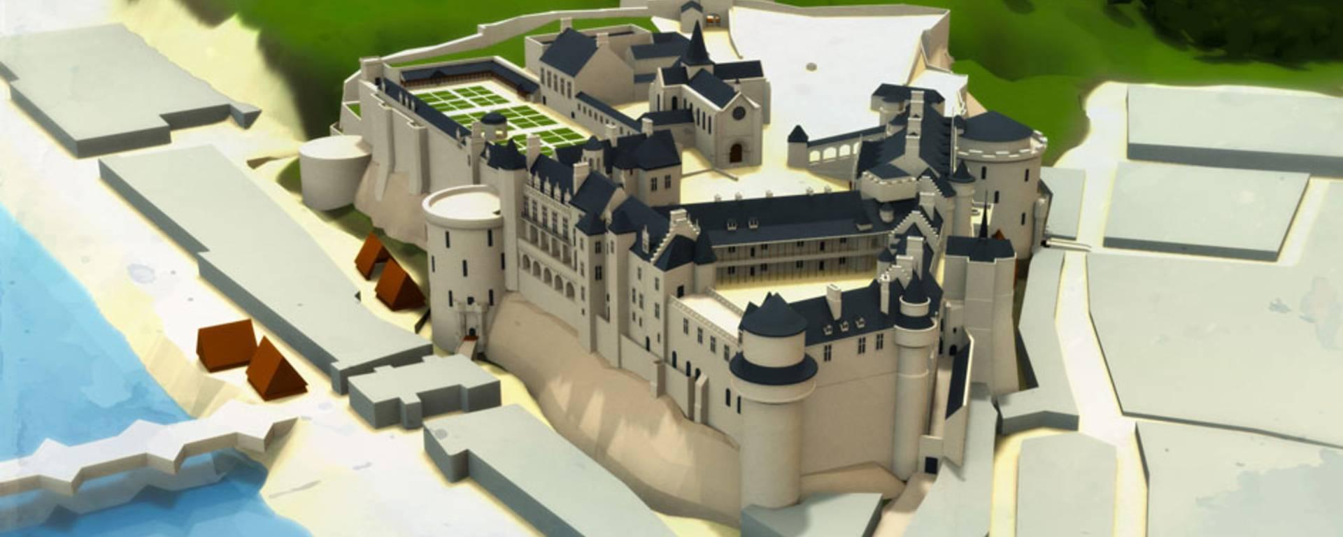Il castello all'epoca di Carlo XIII