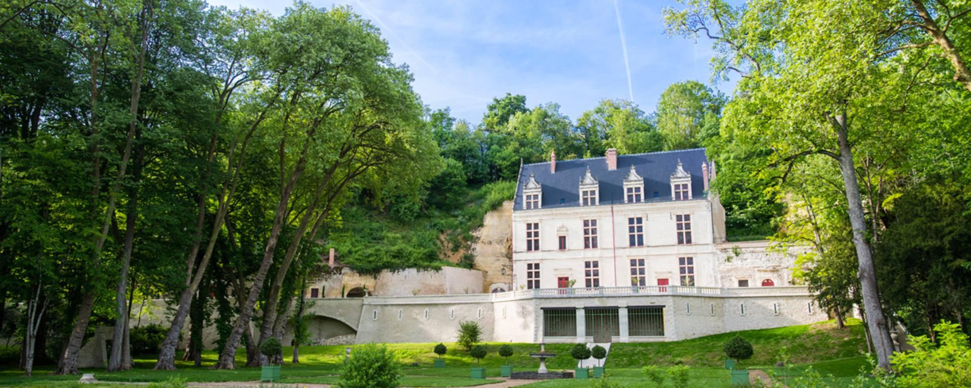 Vista esterna del castello Gaillard © OTBC
