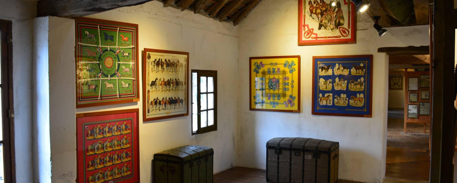 La sala Hermès del castello di Montpoupon © OTBC