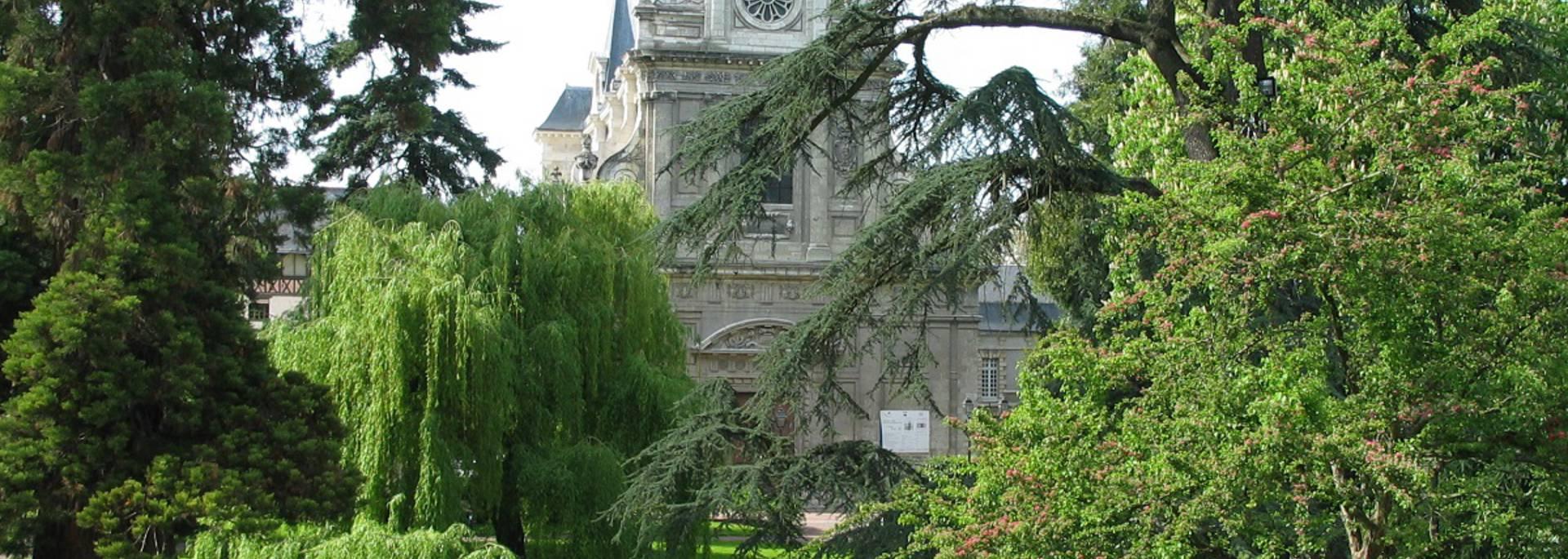 Il giardino Augustin Thierry a Blois