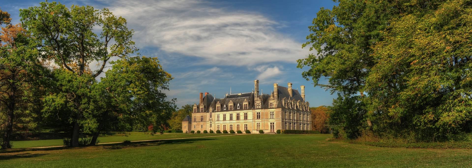 Il parco del castello di Beauregard