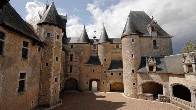Il Castello di Fougères-sur-Bièvre © P. Berthé - CMN-Paris