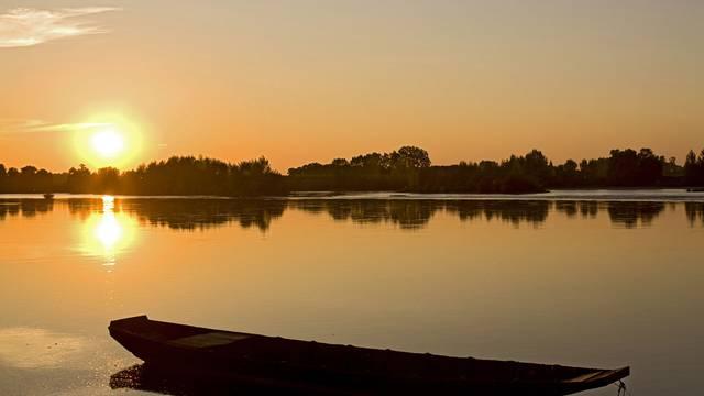 Sunset sulla Loira © Michel Angot