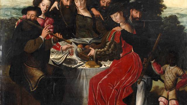 """Ambrogio Benzone, """"Concerto campestre"""", 1550 circa, olio su legno © DR"""