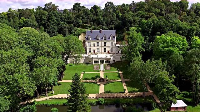 La tenuta reale del castello Gaillard ad Amboise © Château Gaillard