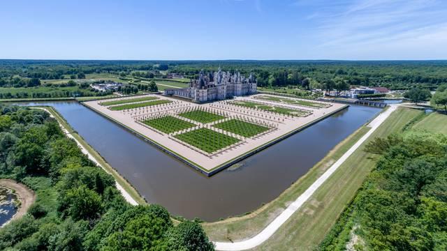 Il castello di Chambord, una delle opere più importanti del regno di Francesco I. © OTBC