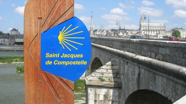 Il cammino di Santiago di Compostela a Blois © OTBC
