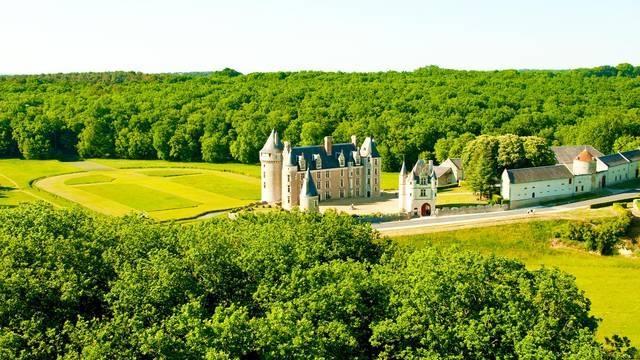 Il castello di Montpoupon. © OTBC