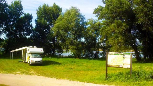 Le aree per camper a Blois-Chambord