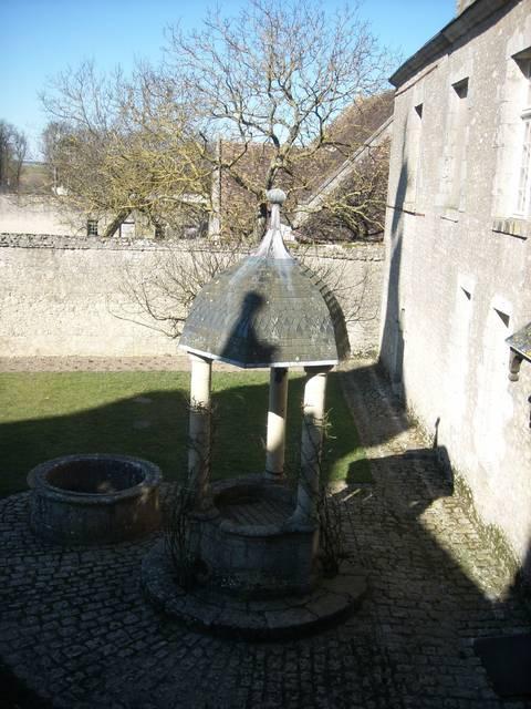 Il cortile d'onore del castello di Talcy, dove s'incontrarono Pierre e Cassandre. © OTBC