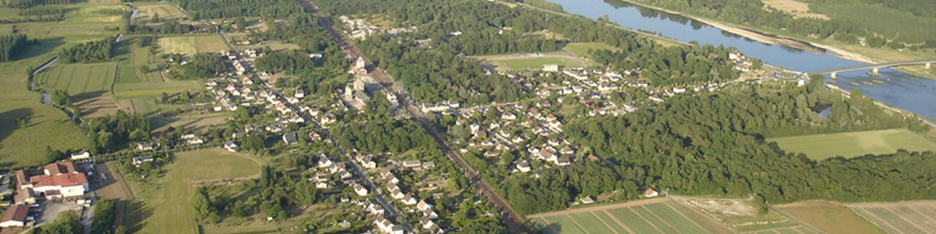 Valle della Loira, borgo di Onzain