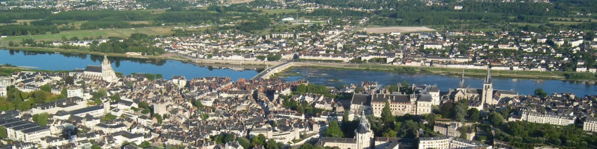 Sorvolo di Blois in mongolfiera