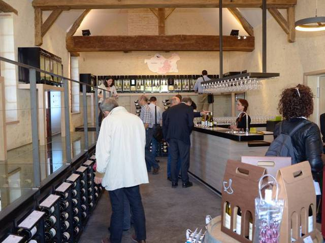 L'interno della Maison dei vini di Chambord. © Sophie Manuel