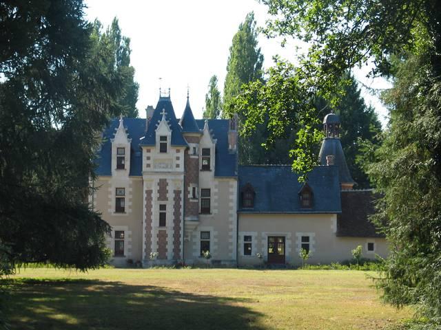 Il castello di Troussay © OTBC