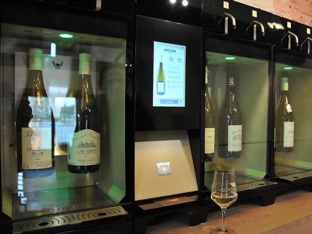 Per scoprire le DOC alla Maison dei vini di Chambord. © OTBC