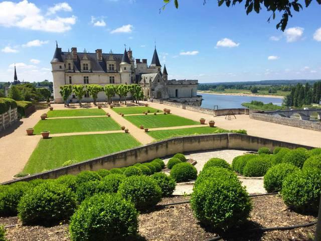 Il castello di Amboise e i suoi giardini © OTBC