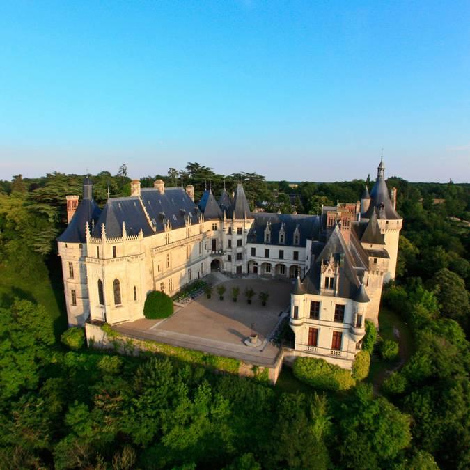Il lato nord del castello di Chaumont-sur-Loire © OTBC