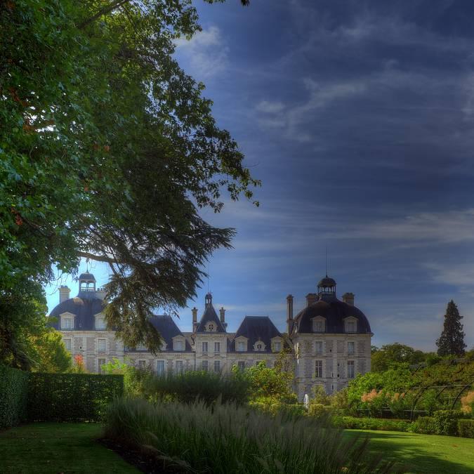 Il parco del castello di Cheverny