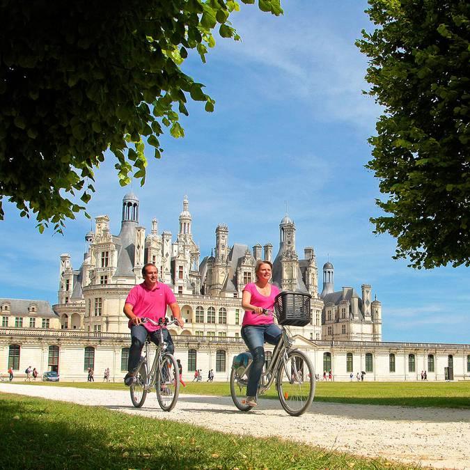 Visita Chambord in bicicletta