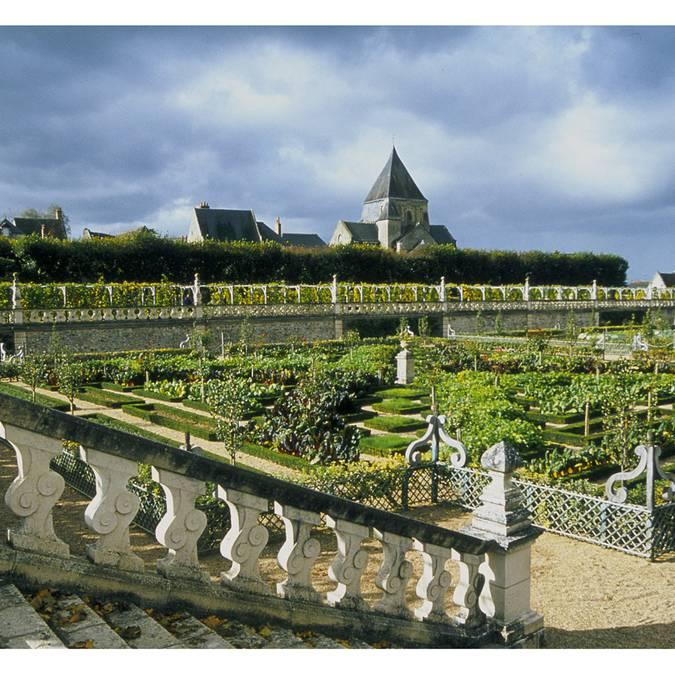 I giardini del castello di Villandry © OTBC