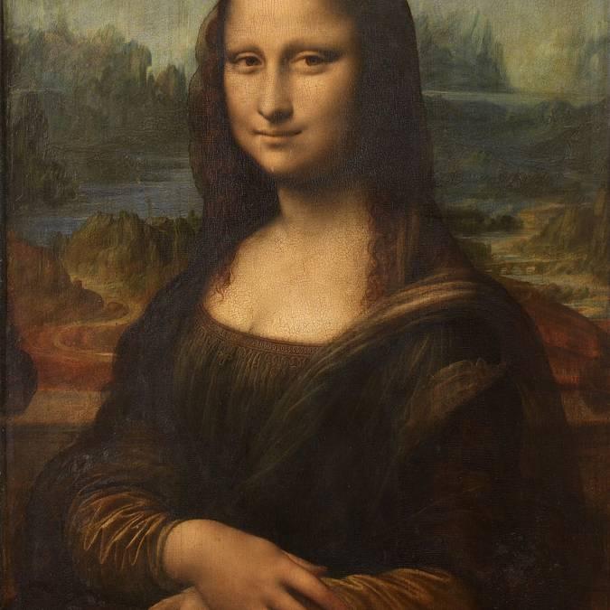 La celebre Mona Lisa di Leonardo da Vinci.