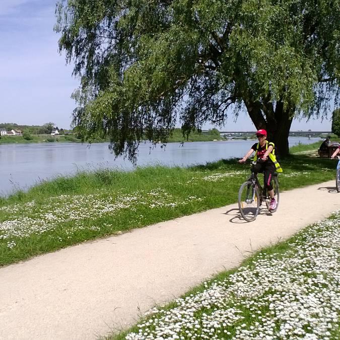 Valle della Loira, pista ciclabile
