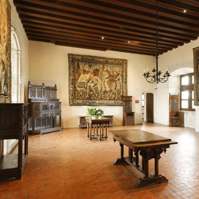 L'interno del castello di Amboise