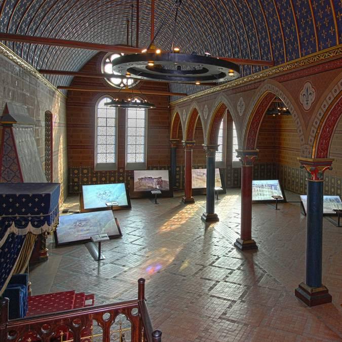 Il Salone degli Stati Generali al castello reale di Blois