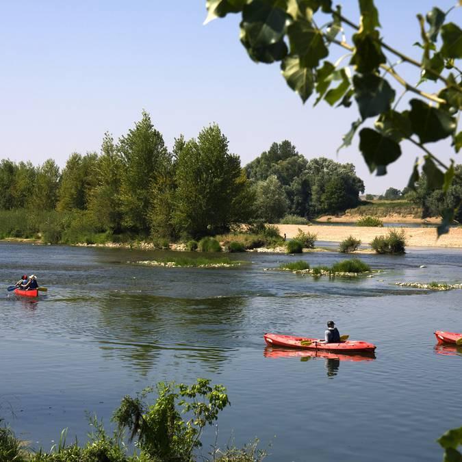 In canoa sulla Loira a Saint-Dyé