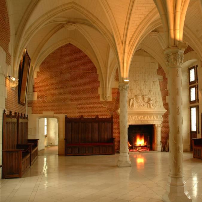 Castello di Amboise, sala del Consiglio