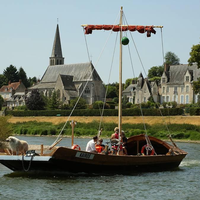 Valle della Loira, imbarcazione tradizionale