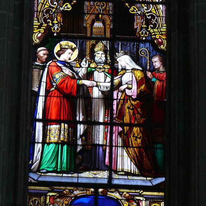 Le vetrate della cattedrale di Blois
