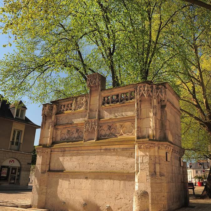 La fontana Luigi XII