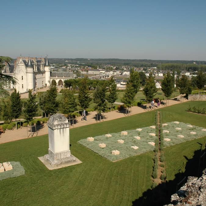 I giardini mediterranei del castello di Amboise. © OTBC