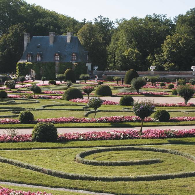 Il giardino Diana di Poitiers a Chenonceau. © DR