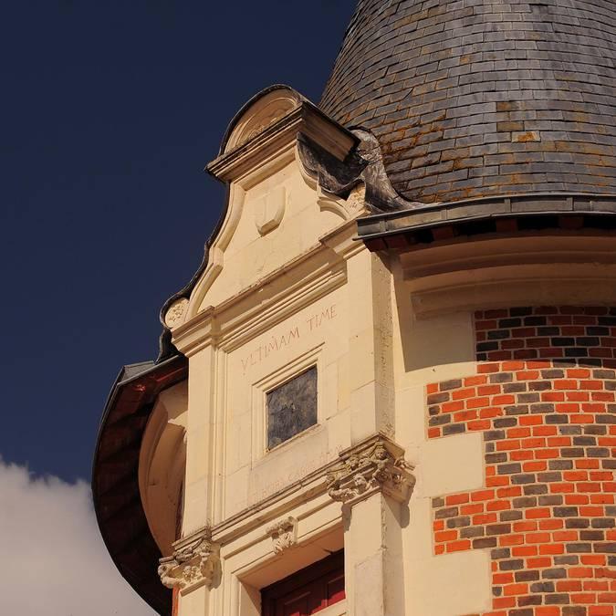 Il castello di Troussay © L. de Serres