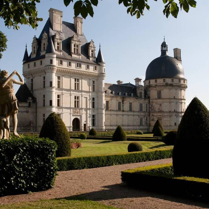I giardini del castello di Valençay © OTBC