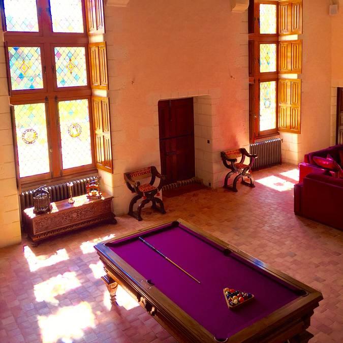 Gli interni rinascimentali del castello Gaillard © OTBC