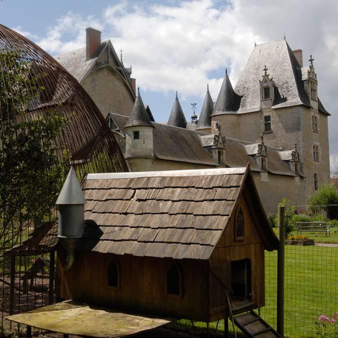 Il pollaio del castello di Fougères-sur-Bièvre