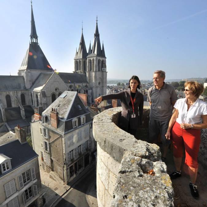 Passeggiate e visite sulle alture di Blois. © OTBC
