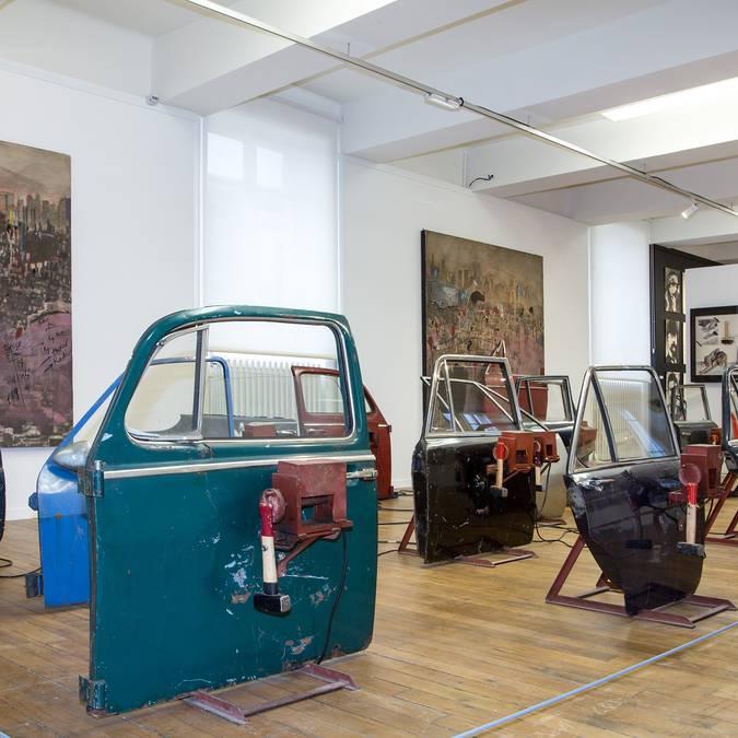 Sala per le mostre della Fondazione del dubbio © Thierry Bourgoin