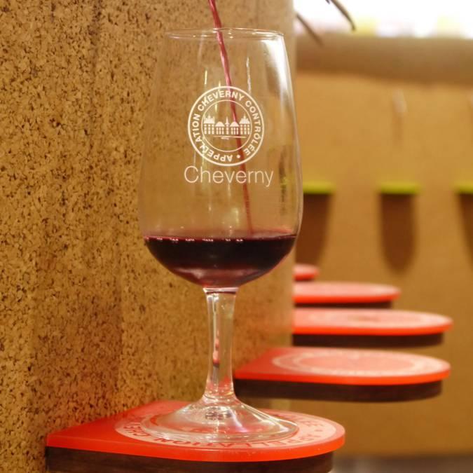 Degustazione automatizzata della Maison dei Vini di Cheverny. © OTBC